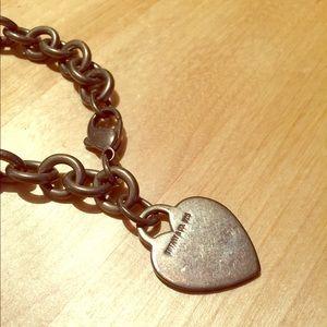 Pre-loved Tiffany & Co. Heart Tag Bracelet